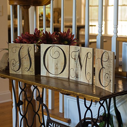Reclaimed Wood Wall Letters (Home sign Home sweet home word art Wood art Reclaimed wood wall art Wedding letters Rustic letters Wall monogram Rustic home decor Pallet)