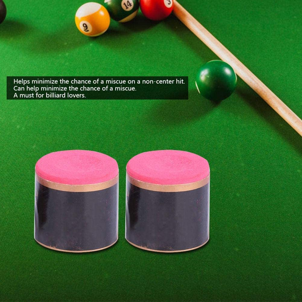 Alomejor 2 unids Snooker Pool Cue Chalk Profesional Grado ...