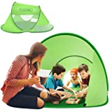 multifun Kids Play Tent, Ventilated Pop Up Tent Kids, Indoor/Outdoor Playhouse Tent Boys Girls, Portable Waterproof Family Camping Tent w/Carrying Bag, Sun Shelter 4-6 Kids 2-3 Adults