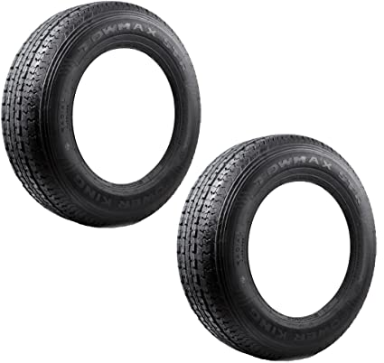 Amazon Com 2 Pack Radial Trailer Tires St205 75r15 St 205 75 R 15