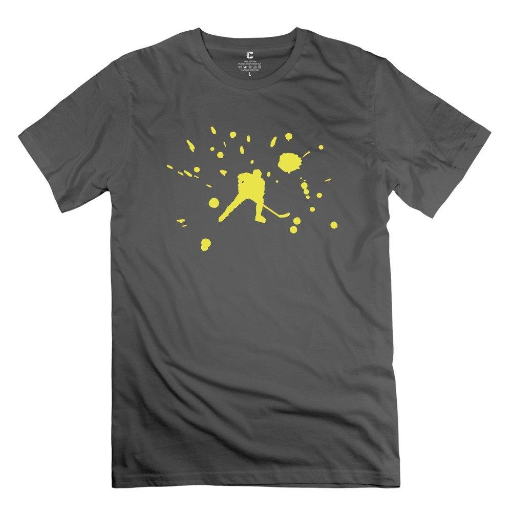 S Crew Neck Ice Hockey T Shirt Deepheather 3295
