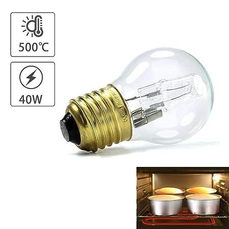 lennonsi - Bombilla para Horno (E27, 40 W, luz Resistente al Calor ...