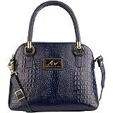 Bolsa feminina de mão em couro Donna