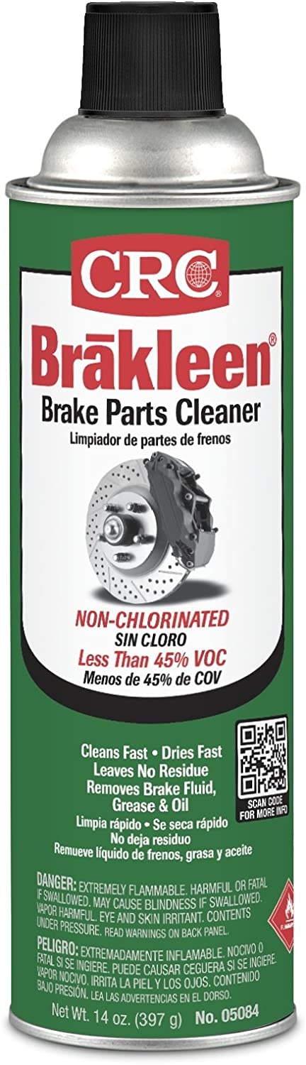 Brakleen Non-Chlorinated Brake Parts Cleaners - 20 oz aerosol brakleen brake parts cleaner [Set of 12]