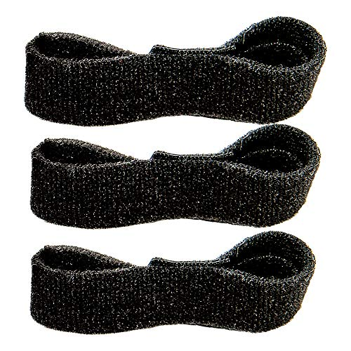 CMCcare Thumb Brace – Replacement Straps Black Pack of 3 by Basko Healthcare (Image #1)