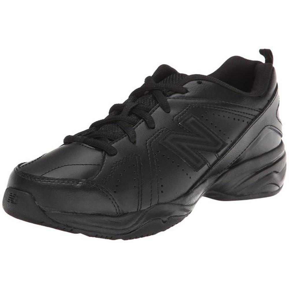 New Balance Boys KX624 Lace-Up Training Shoe (Little Kid/Big Kid),Black,2 W US Little Kid