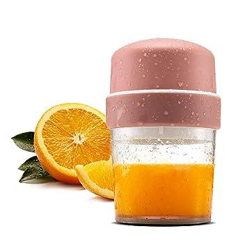 TOPQSC Exprimidor Manual Limon 450ml Exprimidor Zumo Manual Recipiente de Vidrio Exprimidor de Limón Portátil Prensa de Mano Jugo Naranjas Cítricos, ...
