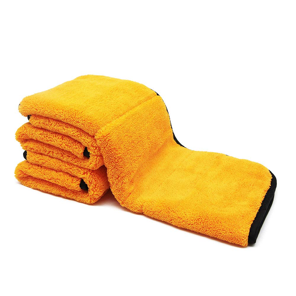 AutoCare 800GSM Super Thick Microfiber Car Cleaning Cloth Detailing Towel (Mix-3PCS) Ningbo WB Industrial Co. Ltd.