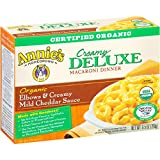 Annies Homegrown Organic Deluxe Mac & Cheese - Elbows & Creamy Mild Cheddar Sauce - 9.5 oz
