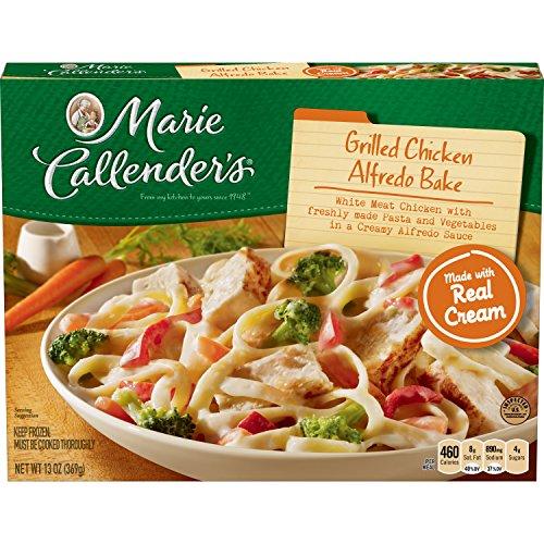 Marie Callender's Frozen Dinner, Grilled Chicken Alfredo Bake, 13 Ounce