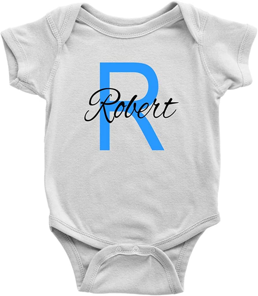 Sobilar Personalized Baby Boy Clothes Newborn Boy Take Home Outfit Monogram Baby Boy Outfit Baby Shower Baby Gift