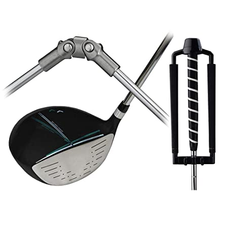 Medicus Dual Hinge DA Driver with Dual Hinge Putter – Swing Correcting Training Package