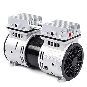 Oilless Diaphragm Vacuum Pump Industrial Oil Free Piston Vacuum Pump Electric Motor Vacuum Pump 550W 110V