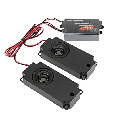 GoolRC Second Generation Cool Throttle Linkage Groups Engine Sound Simulator with 2 Speakers for R/C Sports Car: Toys & Games