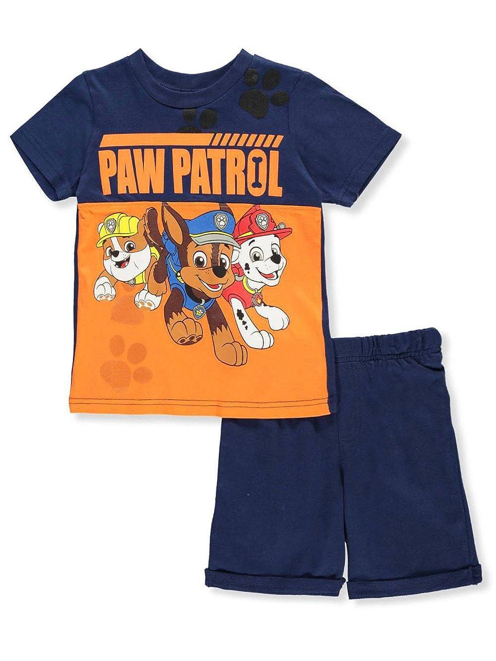 Cookie's Kids Paw Patrol Boys' 2-Piece Short Set Outfit 6