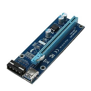 USB 3.0 PCI-E Express 1x to16x Extensor Adaptador de Tarjeta ...