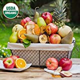 Organic Celebration Fruit Basket - The Fruit Company