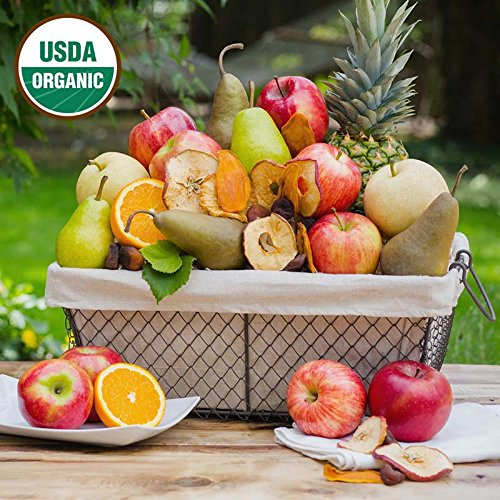 Organic Celebration Fruit Basket - The Fruit Company by The Fruit Company