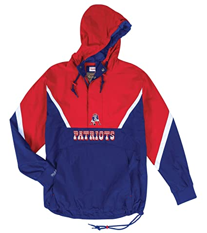 online store 21ee9 cd196 Amazon.com : Mitchell & Ness New England Patriots NFL Half ...