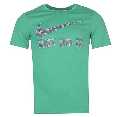 247bf1afc Nike Just Do It Swoosh QTT T-Shirt Mens Tee Shirt Top | Amazon.com