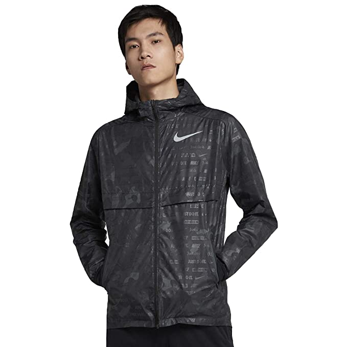 Amazon.com: Nike Shield Ghost Flash - Chaqueta de running ...