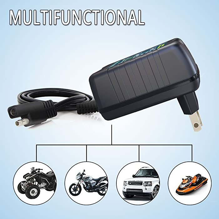 LST Trickle is one of the best motorcycle battery chargers