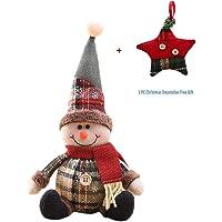 cloforsale Xmas Hanging Wooden 10pcs//SET Home Decor Pendant DIY Craft Gifts Christmas Tree Decoration Santa Claus Ornaments 1