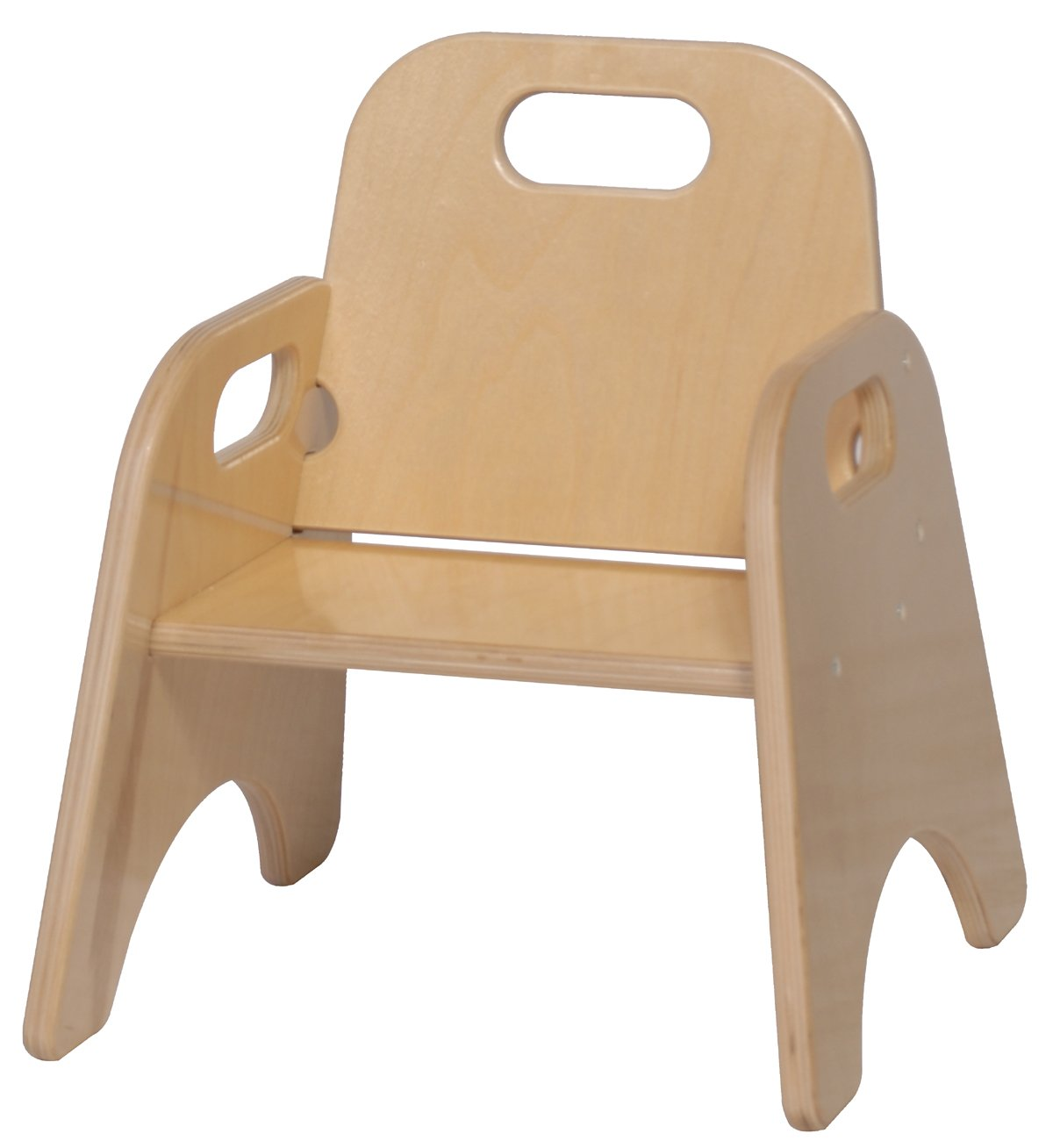 Steffy wood products 7 inch toddler chair furniture chairs for Toddler chair