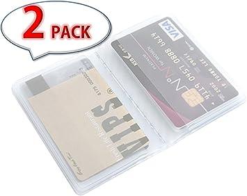 Amazon.com: [Pack de 2] 10 páginas 20 Tarjeta portafolios de ...