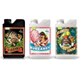 Advanced Nutrients Expert Grower Bundle Piranha, Bud Candy, Flawless Finish Plant Fertilizer Booster Enhancer, 250 ml, 8.4 oz