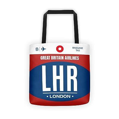 LHR - Airport Code Tote Bag