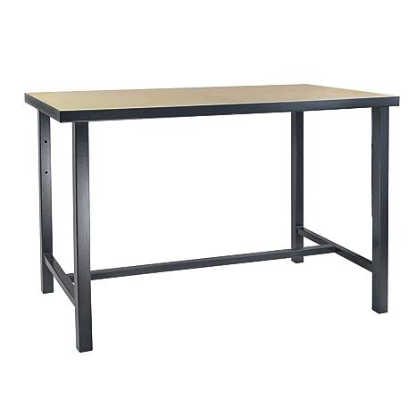 DEMA Werktisch 120x60x85 / Anthrazit: Amazon.de: Baumarkt