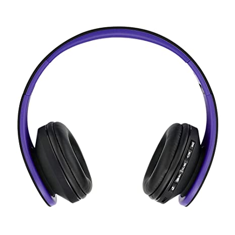 8e352f68d93 Andoer Bluetooth Headphone Wireless Stereo Bluetooth 3.0 Headset 3.5mm  Wired Earphone MP3 Player TF Card