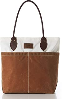 product image for Sea Bags Recycled Sail Cloth Tan Chebeague Tote