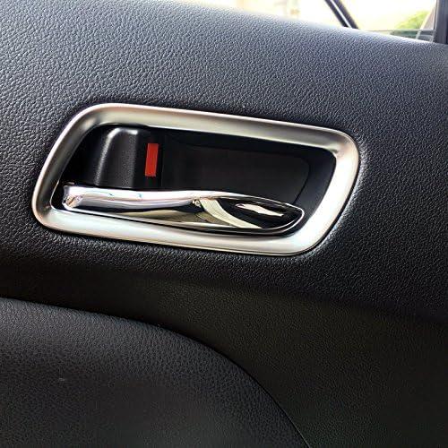 f/ür Prius 4 2016-2020 Matt Interieur T/ürgriff Dekor 4 St/ück ABS Kunststoff