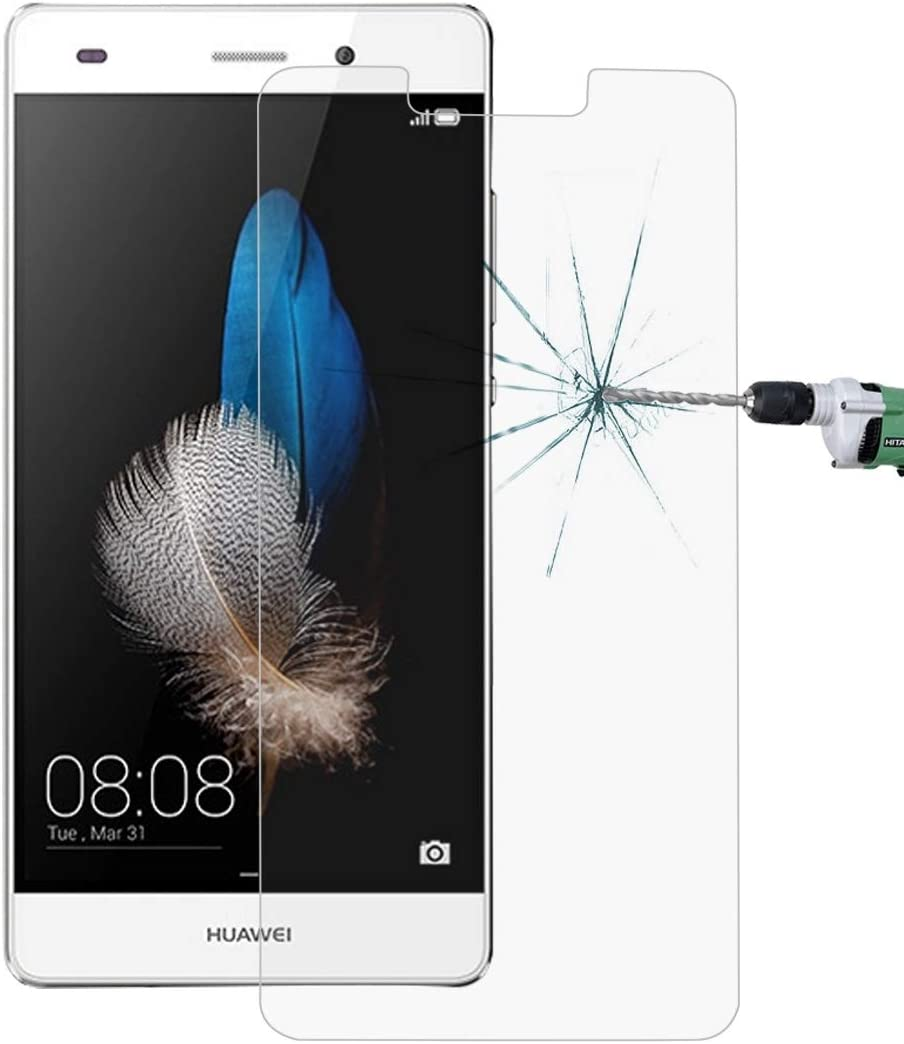 2017 Wangl Mobile Phone Tempered Glass Film 100 PCS for Huawei P8 Lite 0.26mm 9H Surface Hardness Explosion-Proof Non-Full Screen Tempered Glass Screen Film Tempered Glass Film