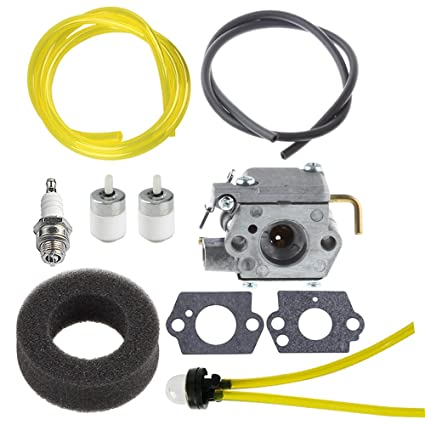 amazon com hipa wt 827 carburetor with air filter fuel filter tunehipa wt 827 carburetor with air filter fuel filter tune up kit for mtd