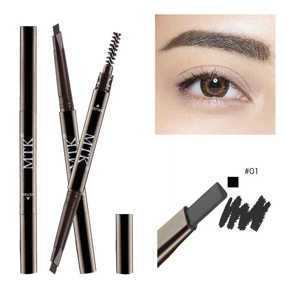 S.H.EEE MTK Waterproof Eyebrow Pen Pencil With Brush Makeup Cosmetic Tool (A)