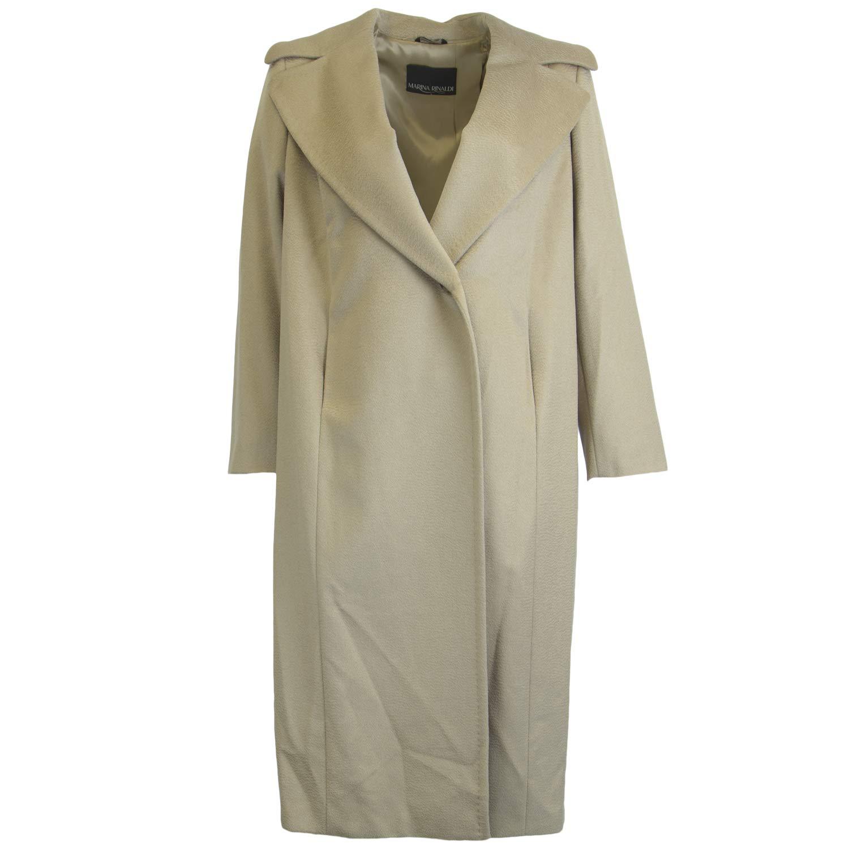 70856966950 Amazon.com  Marina Rinaldi Women s Tatto Long Wool Coat  Clothing