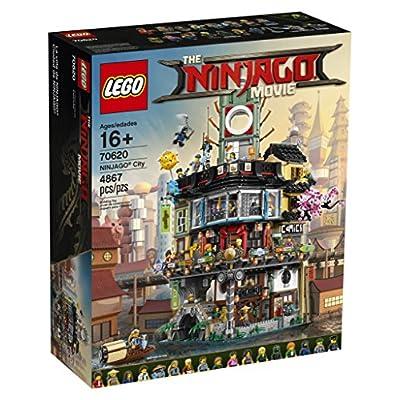 LEGO NINJAGO Ninjago City 70620 (4867 Pieces): Toys & Games