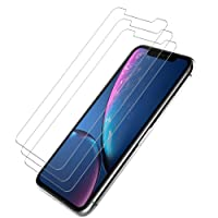 3-Pack LK for iPhone XR Screen Protector Tempered Glass Deals
