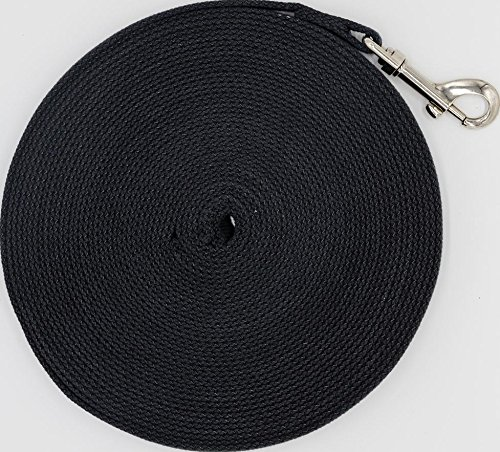 Justzon Cotton Web Dog Training Lead black ()
