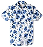 Best Print Wear Clothing Friend Gifts Shirts - MOCOTONO Men's Short Sleeve Floral Print Button Down Review