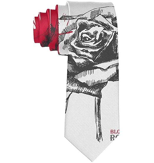 corbata roja del día de San Valentín y del día de padre de la rosa ...