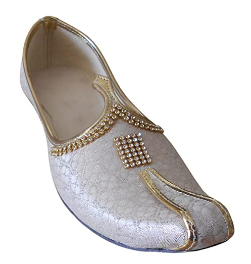 Men's Traditional Indian Silk Designer Shoes