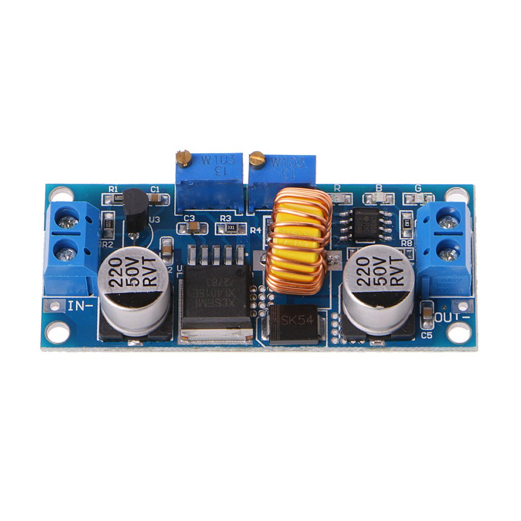 BIlinli 5A Lithium-Ladeger/ät CV-CC-Abw/ärtsversorgungsmodul LED-Treiber Neues Abw/ärtsmodul Batterieladeger/ät-LED-Konstantstrom-Treibermodul