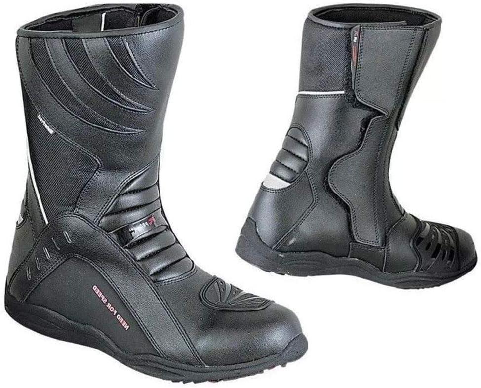 3M Haute Visibilit/é 45 Noir Taille 40 /à 45 Noir Touring Imperm/éables BIESSE Bottes Moto en Cuir Urban Scooter Rpro Boots