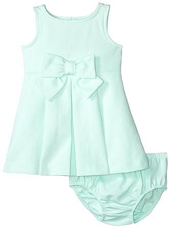 0b5a366e78 Amazon.com  Janie   Jack Baby Girls  Mint Ponte Dress  Clothing