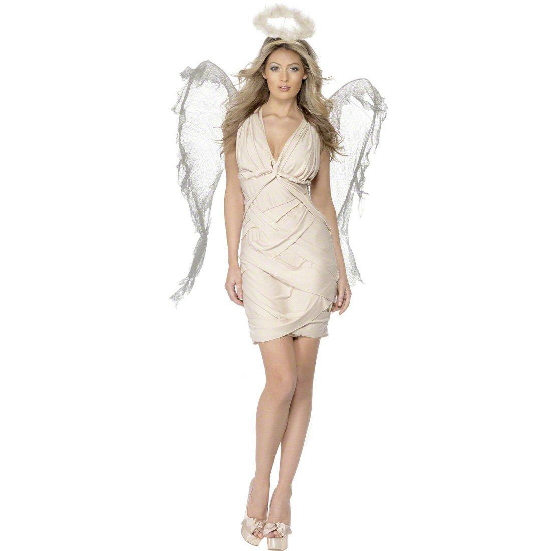 NET TOYS Traje de ángel caído Disfraz alas Vestuario: Amazon.es ...