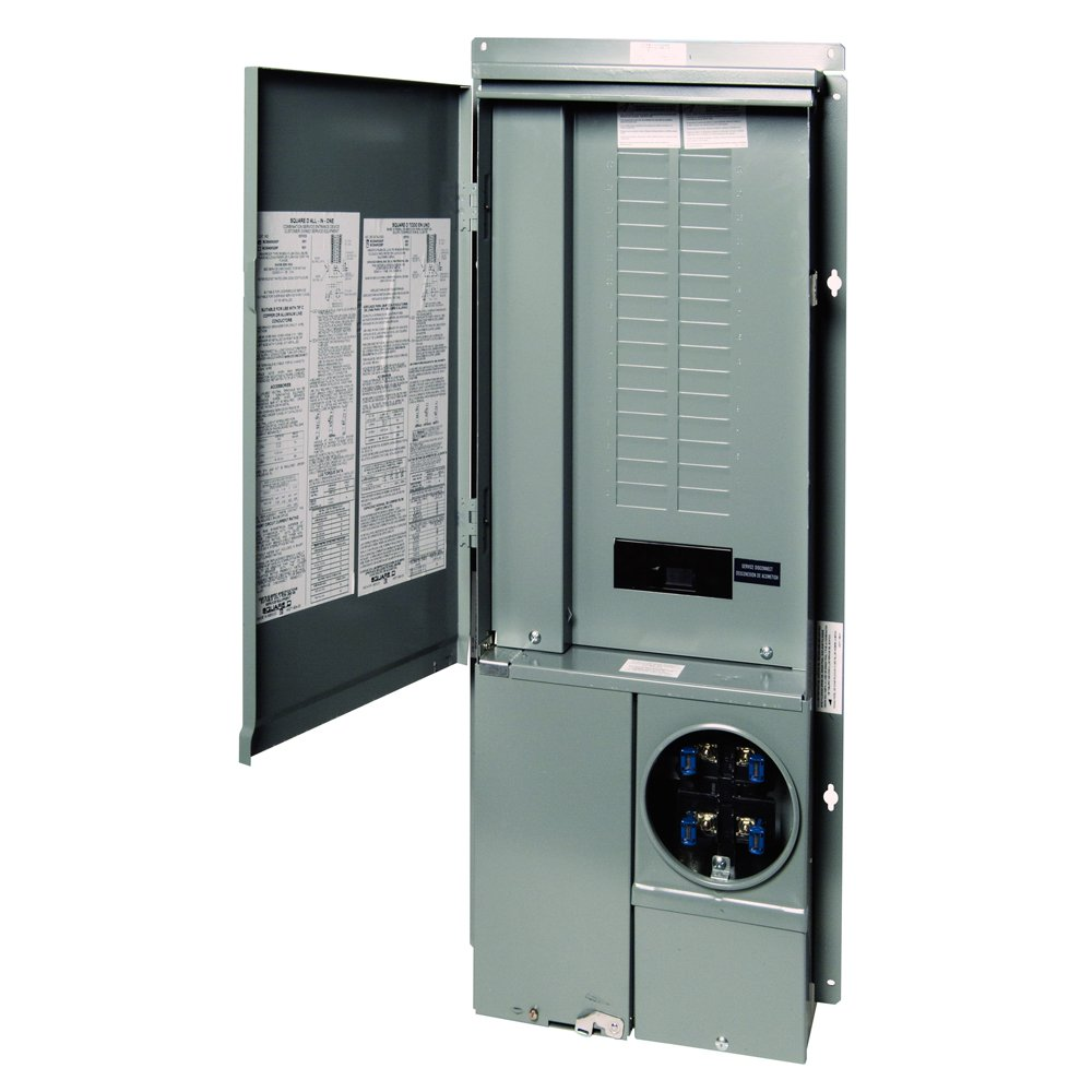 Square D by Schneider Electric SC3042M225PF Homeline 225-Amp 30 ...